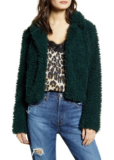 BLANKNYC Faux Fur Teddy Coat