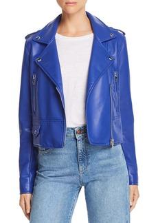 BLANKNYC Faux Leather Moto Jacket