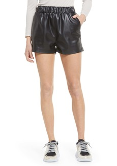 BLANKNYC Faux Leather Shorts