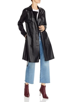 BLANKNYC Faux Leather Trench Coat - 100% Exclusive