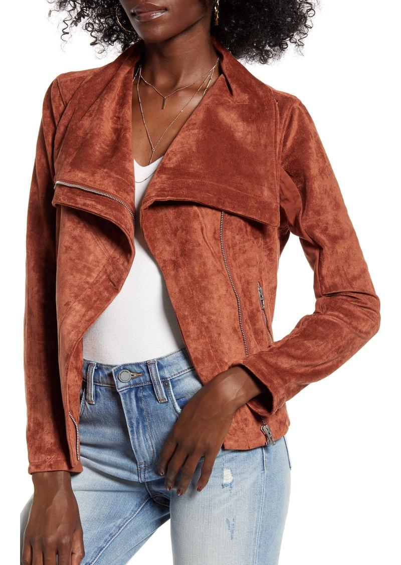 BLANKNYC Faux Suede Jacket