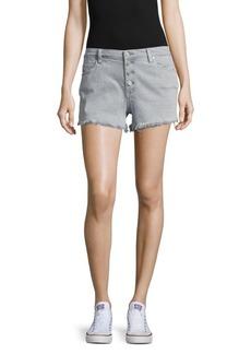 BLANKNYC Five-Pocket Frayed Shorts