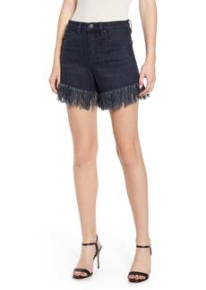 BLANKNYC Fray Hem Denim Shorts (Vixen)