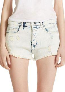 BLANKNYC Frayed Denim Shorts