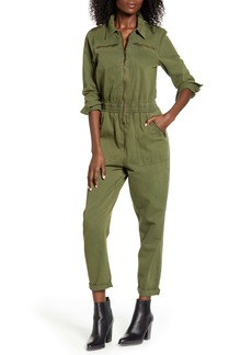 BLANKNYC Garment Dye Twill Utility Jumpsuit
