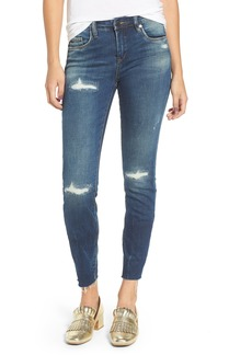 BLANKNYC High Dive Ripped Skinny Jeans
