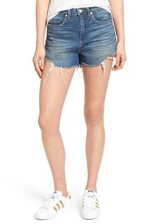 BLANKNYC High Rise Cutoff Denim Shorts