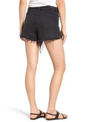 BLANKNYC High Rise Cutoff Jean Shorts (Rock Steady)