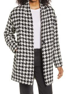 BLANKNYC Houndstooth Cocoon Coat