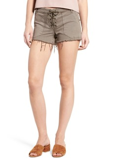 BLANKNYC Lace-Up Shorts