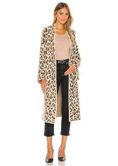 BLANKNYC Leopard Duster