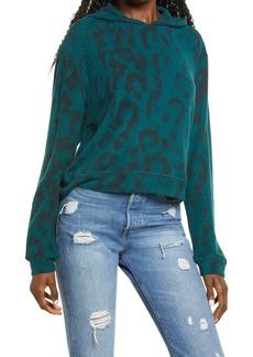 BLANKNYC Leopard Print Hoodie