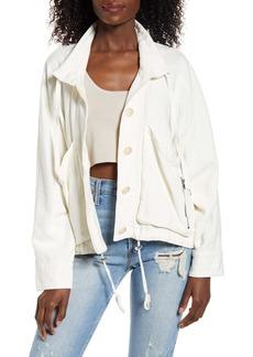 BLANKNYC Linen Blend Utility Jacket