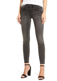 BLANKNYC Magic Trick Raw Hem Skinny Jeans