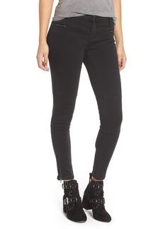 BLANKNYC Metal East Ankle Skinny Jeans