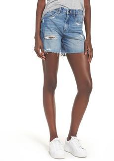 BLANKNYC Ms. Throwback Cutoff Denim Shorts