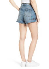 BLANKNYC Ms. Throwback Cutoff Denim Shorts