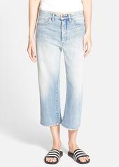 BLANKNYC 'My Sugar Daddy' Crop Boyfriend Jeans (Blue)