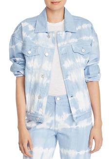 BLANKNYC Oversized Tie-Dye Denim Jacket - 100% Exclusive