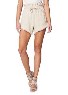 BLANKNYC Paperbag Fray Hem Shorts