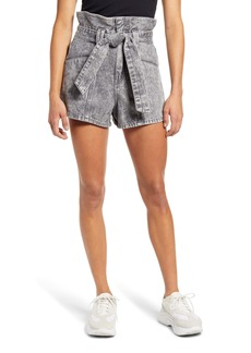 BLANKNYC Paperbag Waist Denim Shorts (Fearless)