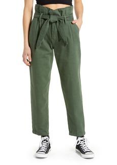 BLANKNYC Paperbag Waist Tapered Pants