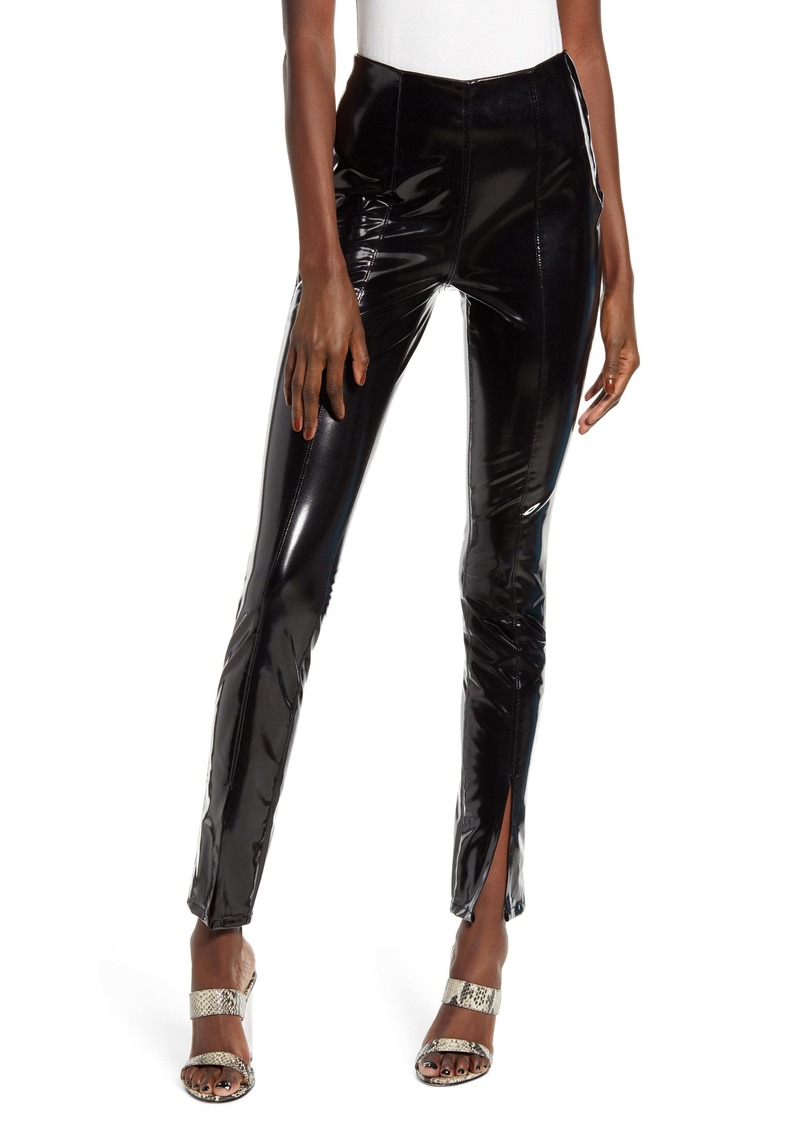 BLANKNYC Patent Faux Leather Leggings