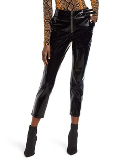 BLANKNYC Patent Faux Leather Pants