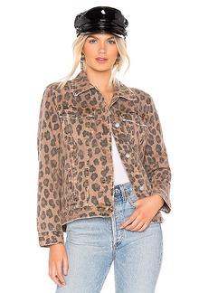 BLANKNYC Printed Denim Jacket