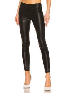 30549c69438e6 Blank Blank NYC Vegan Leather Moto Skinny Jeans in Daddy Soda ...