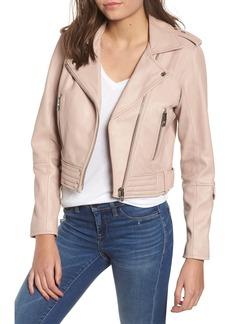 BLANKNYC Real Leather Moto Jacket