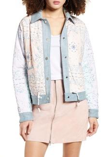 BLANKNYC Reversible Denim Jacket