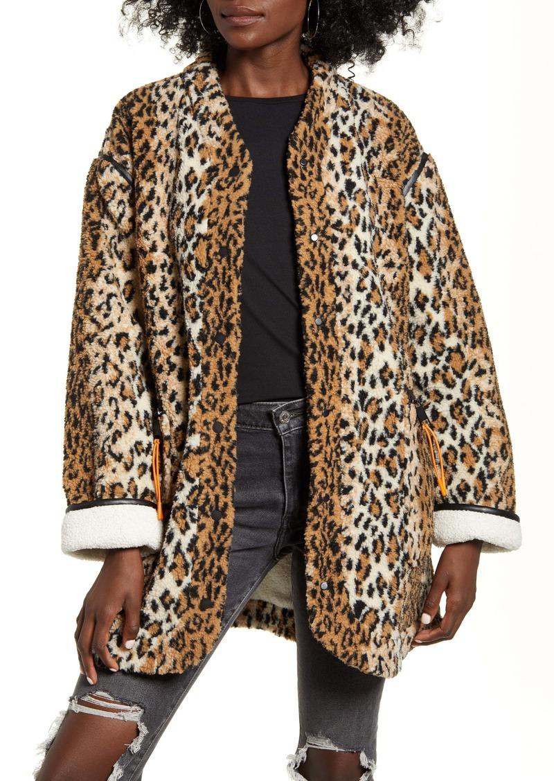 BLANKNYC Reversible Fleece Jacket