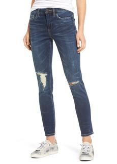 BLANKNYC Ripped Ankle Skinny Jeans (Fresh Brew)