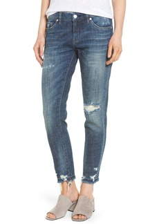 BLANKNYC Ripped Girlfriend Jeans (Let It Roll)