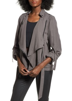 BLANKNYC Roll Sleeve Drape Jacket