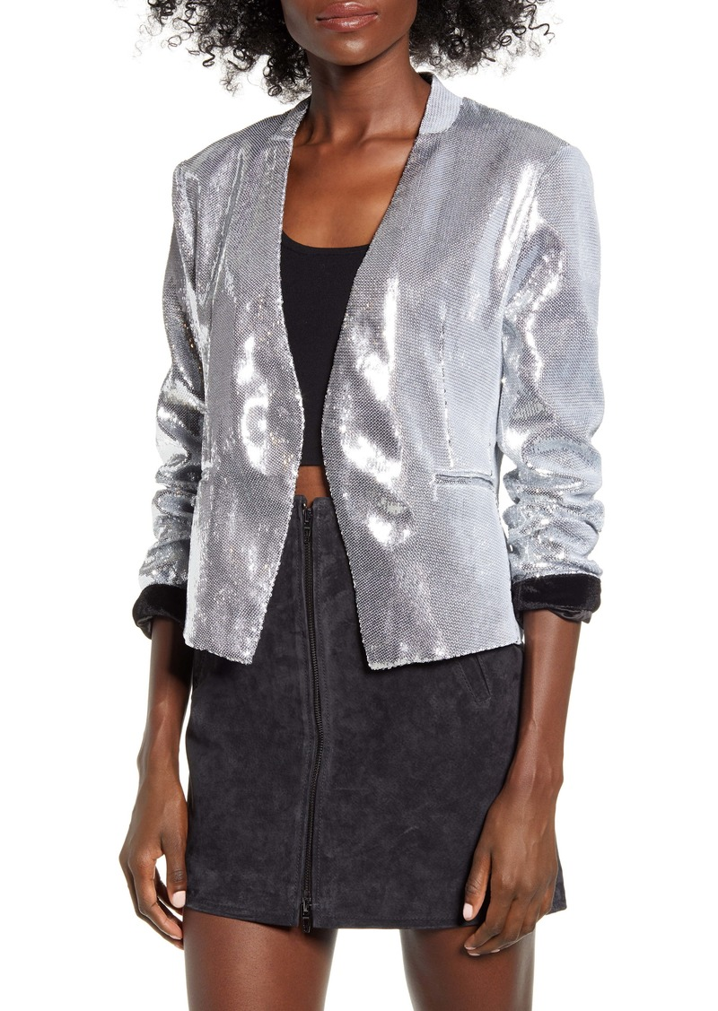 BLANKNYC Sequin Blazer