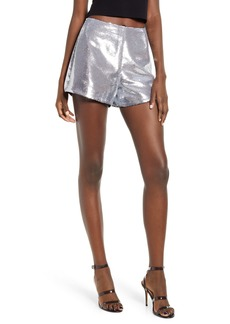 BLANKNYC Sequin Shorts