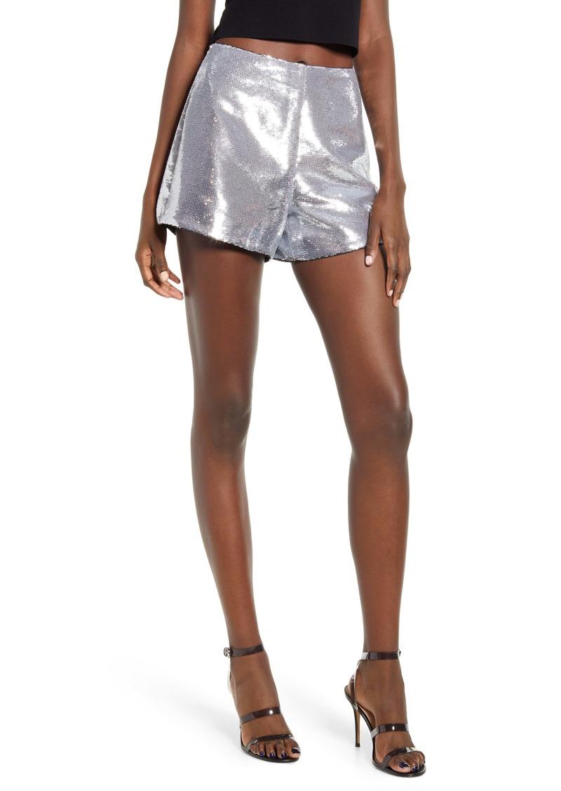 BLANKNYC Sequin Shorts