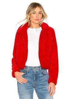 BLANKNYC Siren Faux Fur Jacket