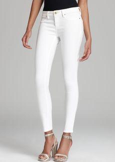 BLANKNYC Skinny Jeans in White Lines