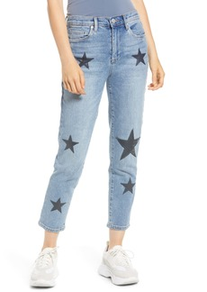 BLANKNYC Star Patch Crop Skinny Jeans (Ever After)