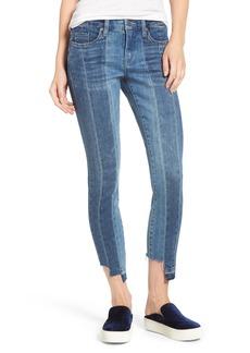 BLANKNYC Step Hem Skinny Jeans