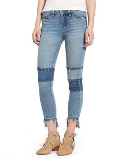 BLANKNYC Step Hem Skinny Jeans (Fancy That)