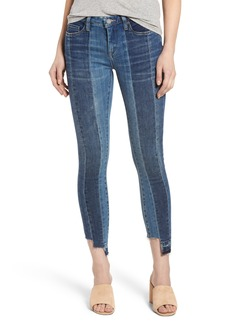 BLANKNYC Step Hem Skinny Jeans (High and Low)