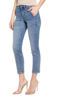 BLANKNYC Straight Leg Carpenter Jeans