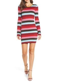 BLANKNYC Stripe Sweater Dress
