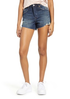 BLANKNYC The Barrow Distressed Denim Shorts (In the End)