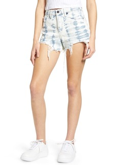 BLANKNYC The Barrow Tie Dye Denim Shorts (Spring Breaker)