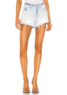 BLANKNYC The Barrow Vintage High Rise Denim Short